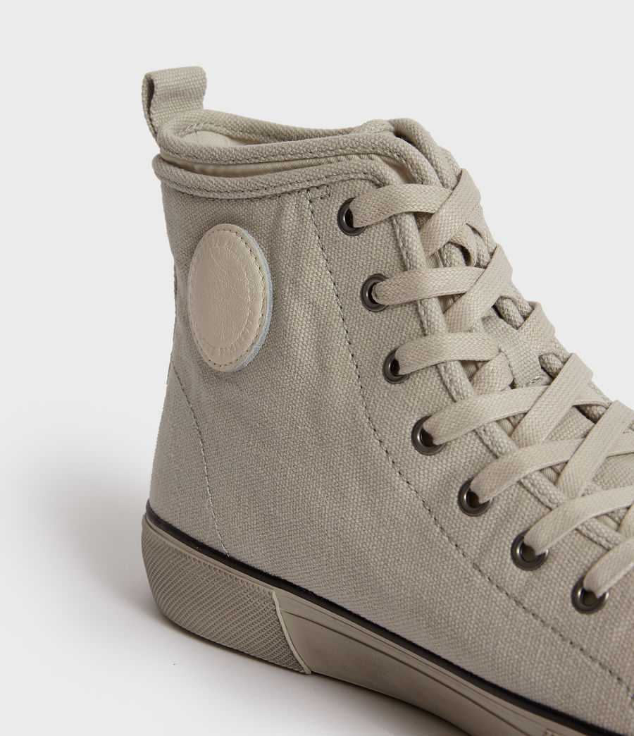 Men's Rigg Canvas Hightop Trainer (chalk) - Image 2