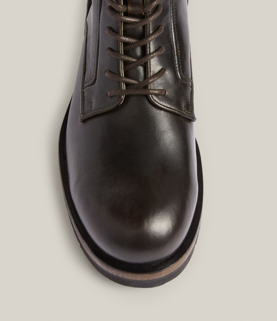 Men's Holster Leather Boots (bitter_chocolate) - Image 3