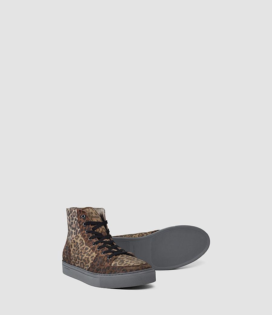 Uomo Pact Hi-top Sneaker (leopard) - Image 3