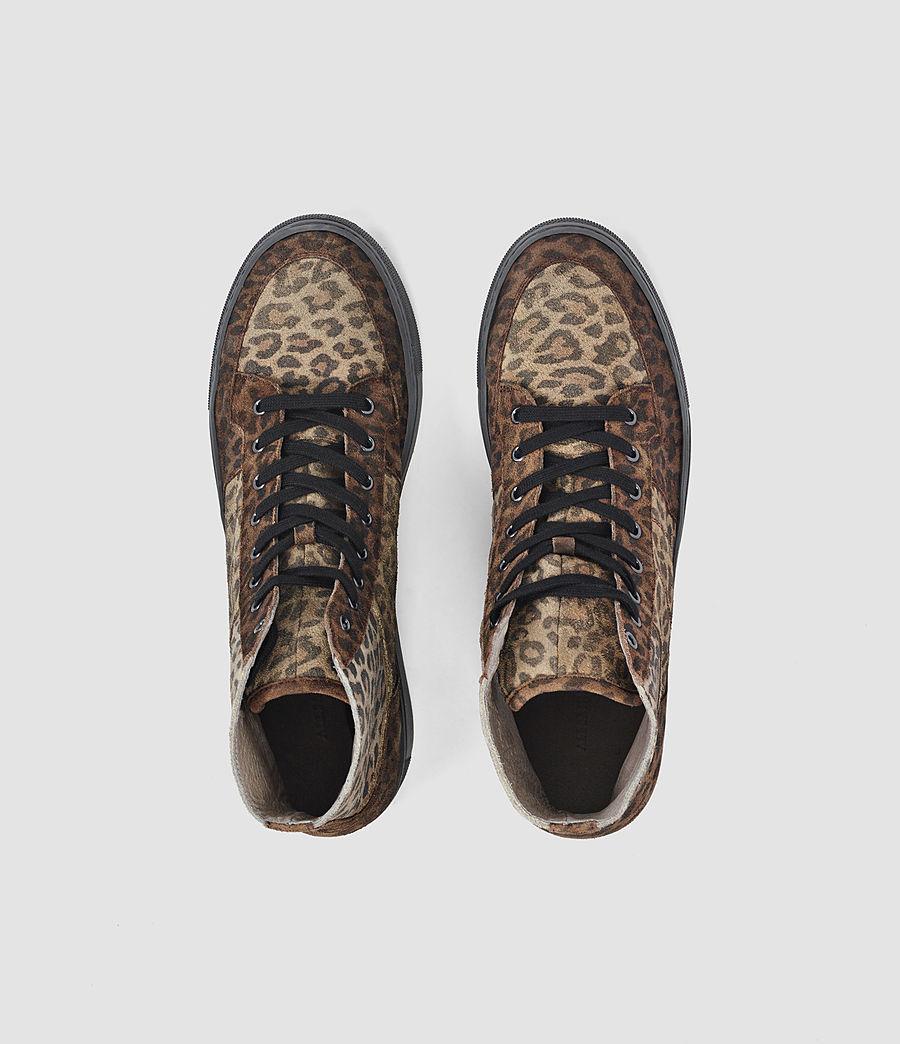 Uomo Pact Hi-top Sneaker (leopard) - Image 4