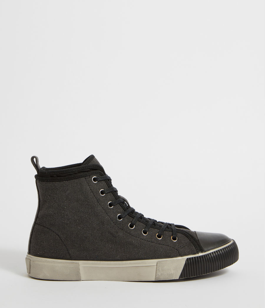 Mens Rigg Hightop Sneaker (black) - Image 1