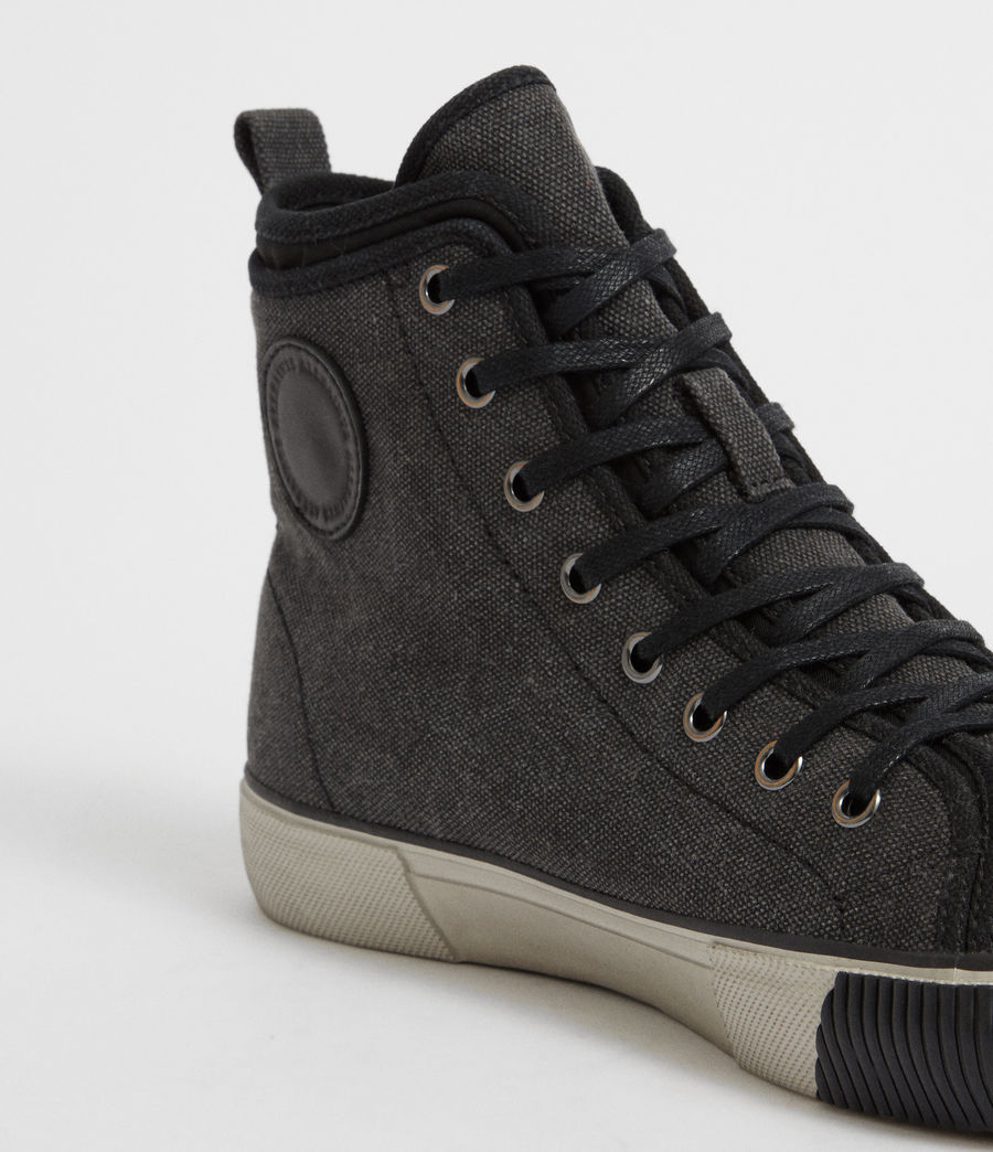 Mens Rigg Hightop Sneaker (black) - Image 2