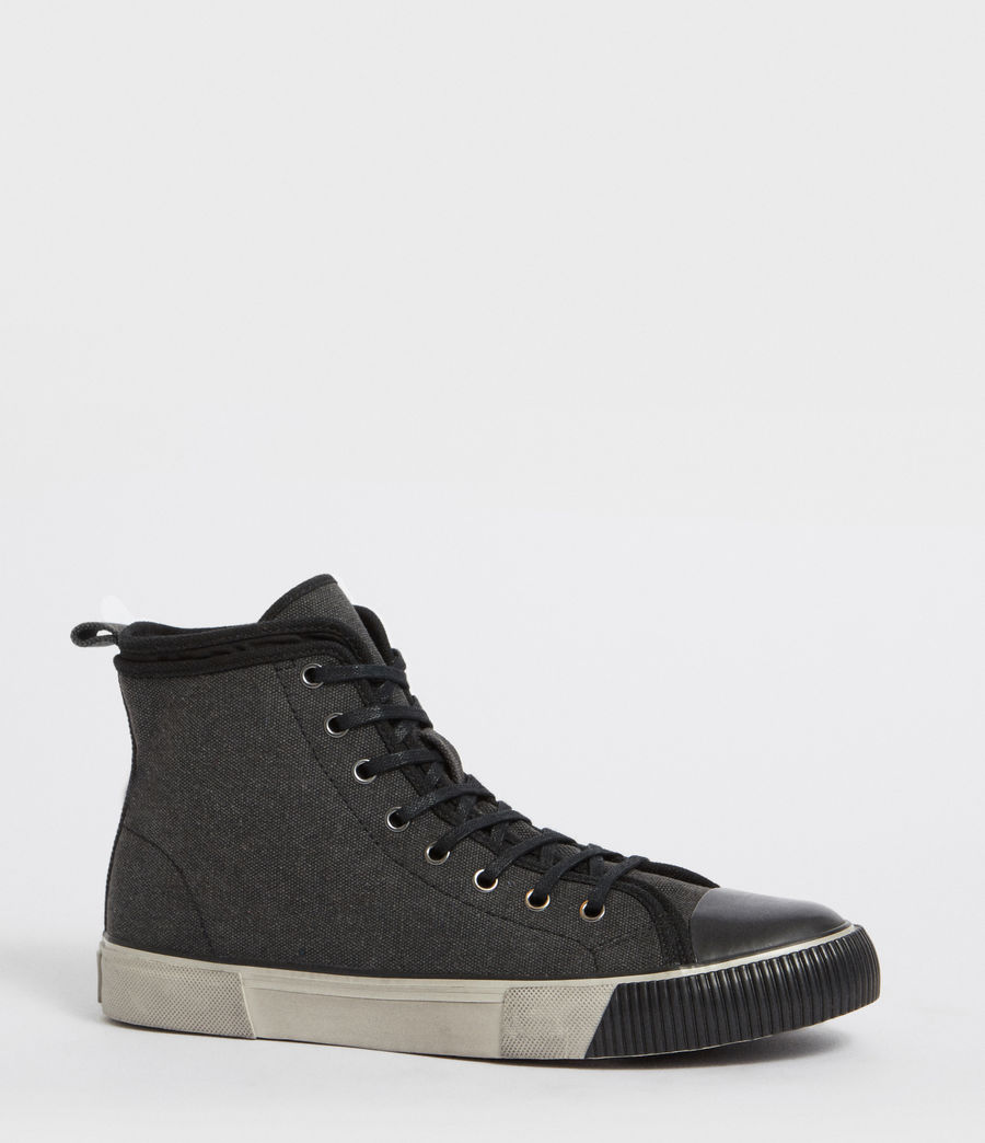 Mens Rigg Hightop Sneaker (black) - Image 3