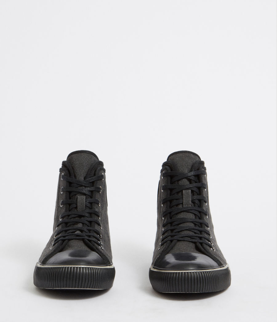 Mens Rigg Hightop Sneaker (black) - Image 4