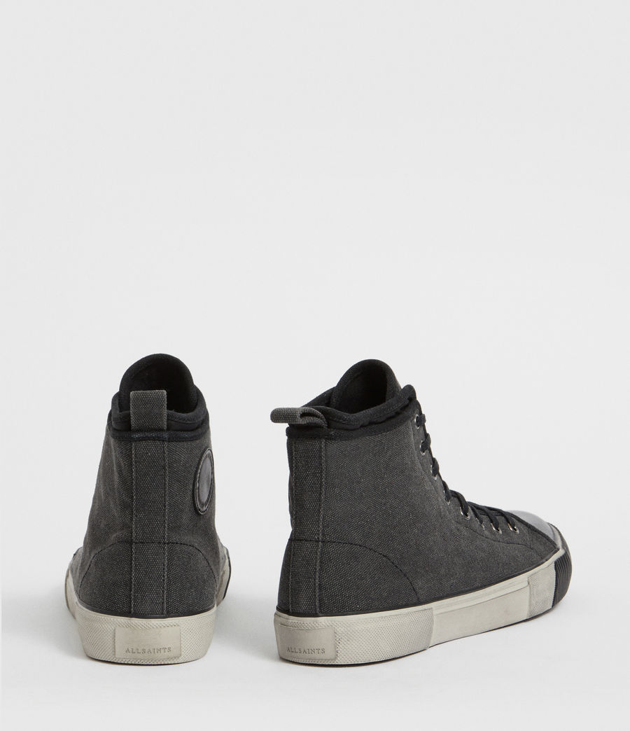 Mens Rigg Hightop Sneaker (black) - Image 5