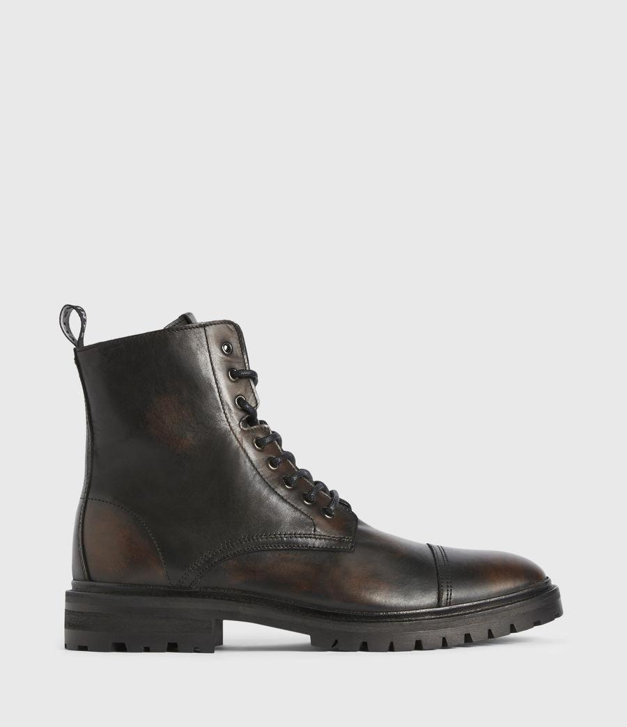 Men's Piero Leather Boots (dark_brown) - Image 1