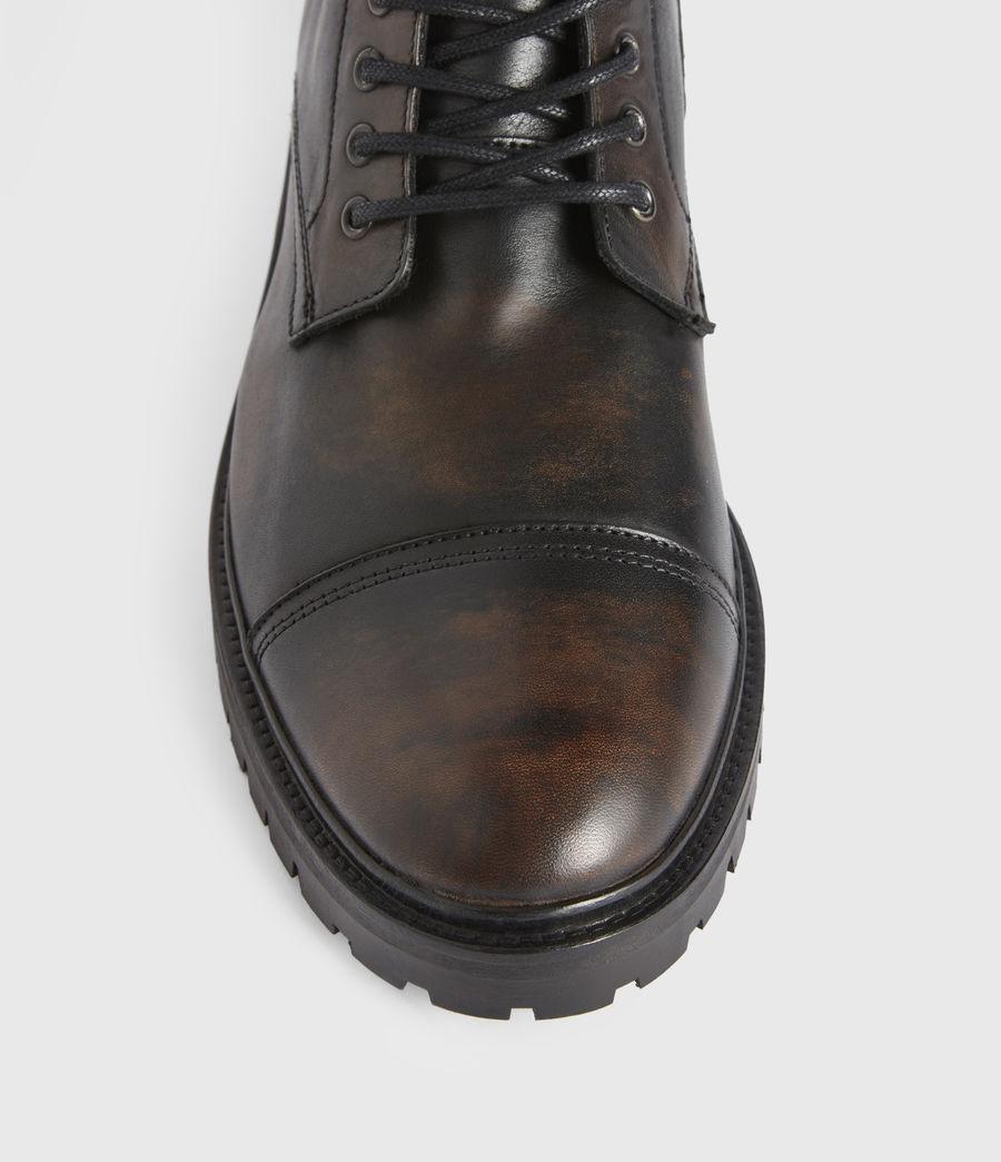 Men's Piero Leather Boots (dark_brown) - Image 2