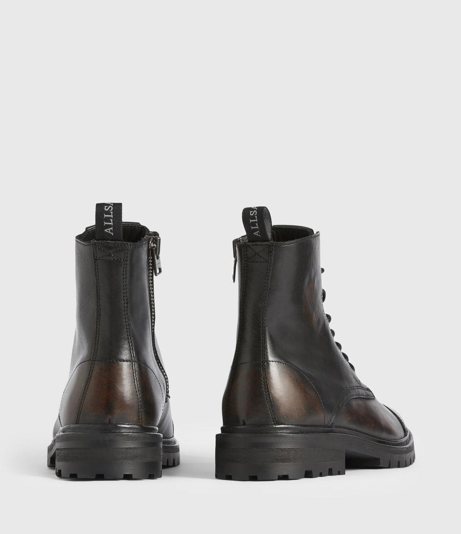 Men's Piero Leather Boots (dark_brown) - Image 5