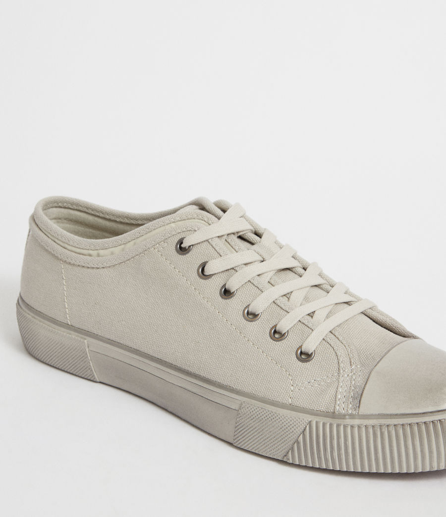 Men's Rigg Canvas Low Top Trainer (chalk) - Image 2