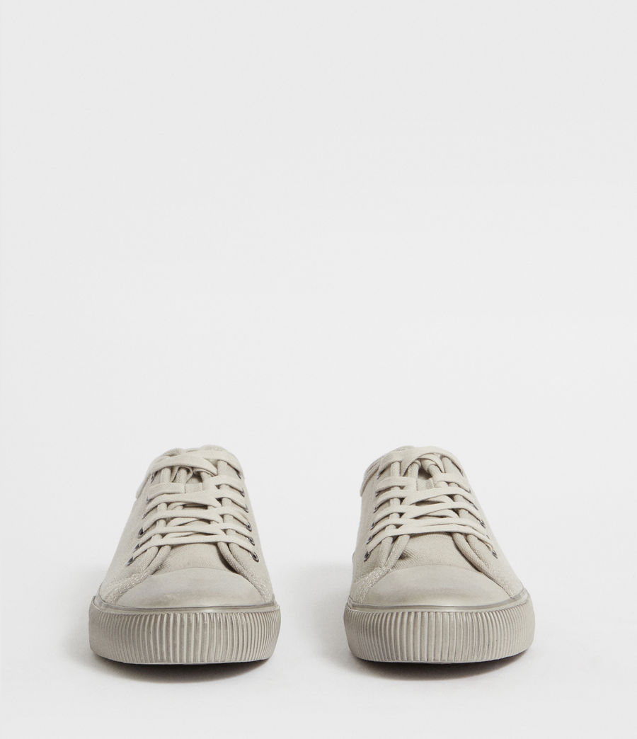 Men's Rigg Canvas Low Top Trainer (chalk) - Image 4