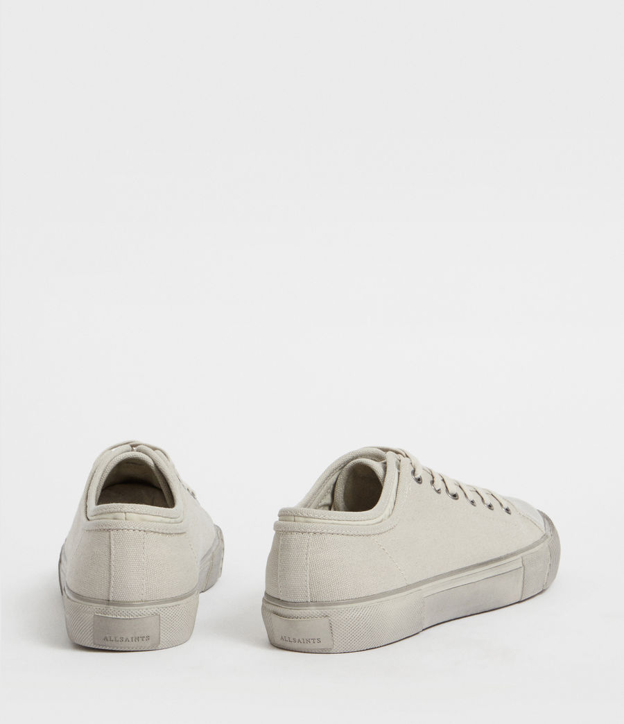 Men's Rigg Canvas Low Top Trainer (chalk) - Image 5