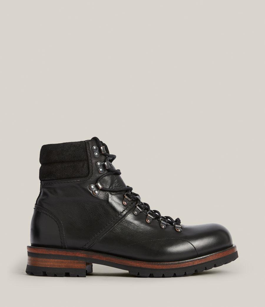 Men's Felton Leather Boots (black) - Image 1