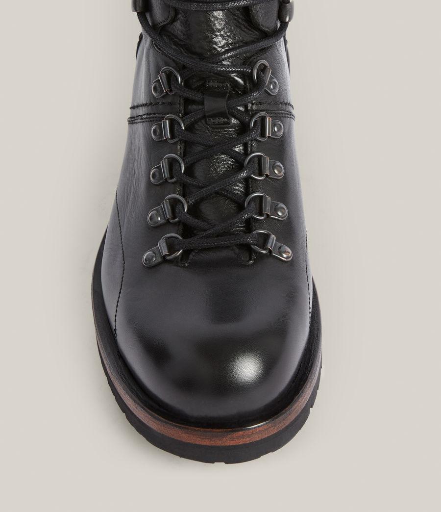 Men's Felton Leather Boots (black) - Image 3
