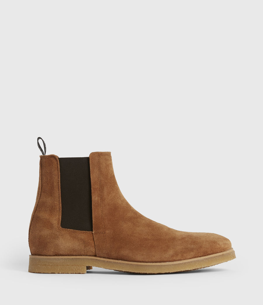Mens Rhett Suede Boots (cognac) - Image 1