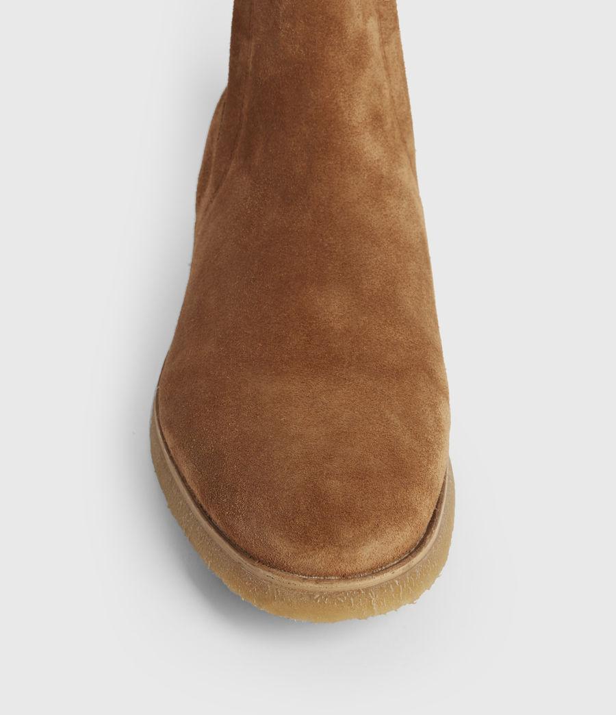 Mens Rhett Suede Boots (cognac) - Image 2