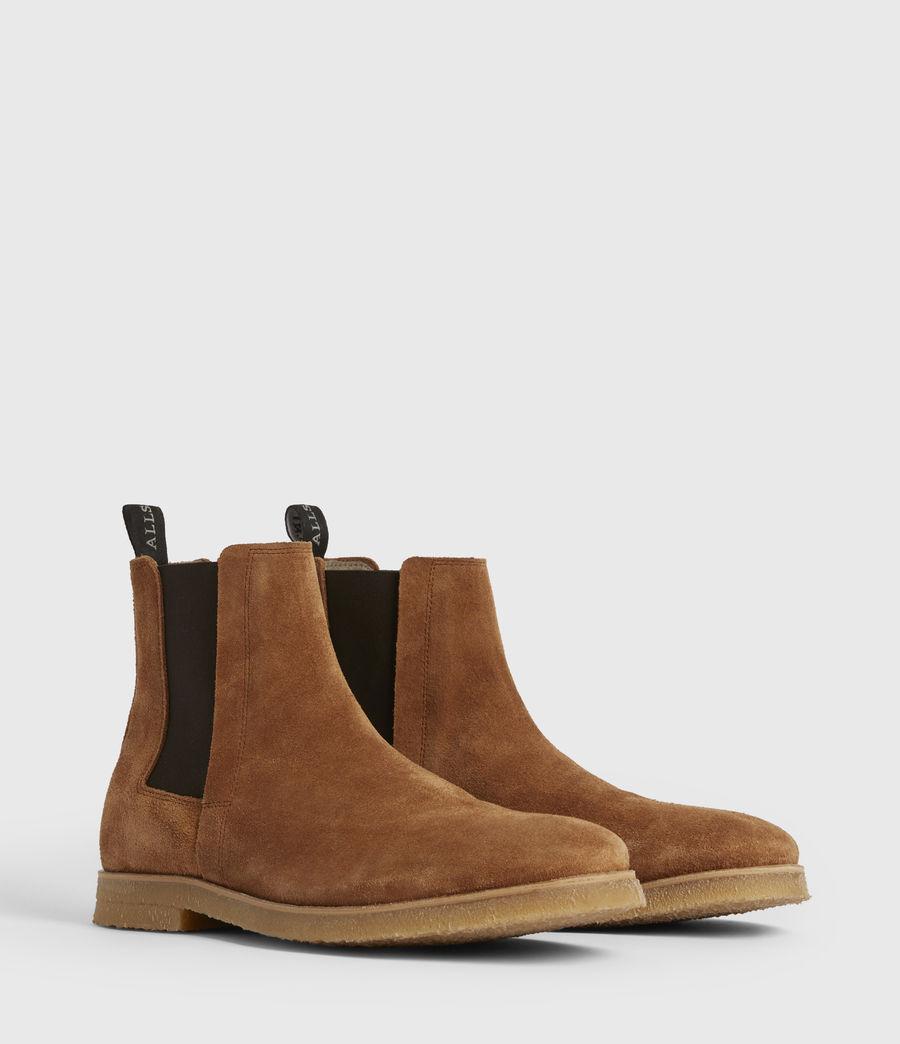Mens Rhett Suede Boots (cognac) - Image 3
