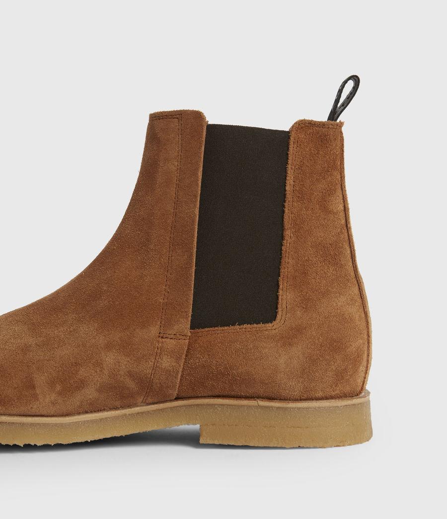 Mens Rhett Suede Boots (cognac) - Image 4