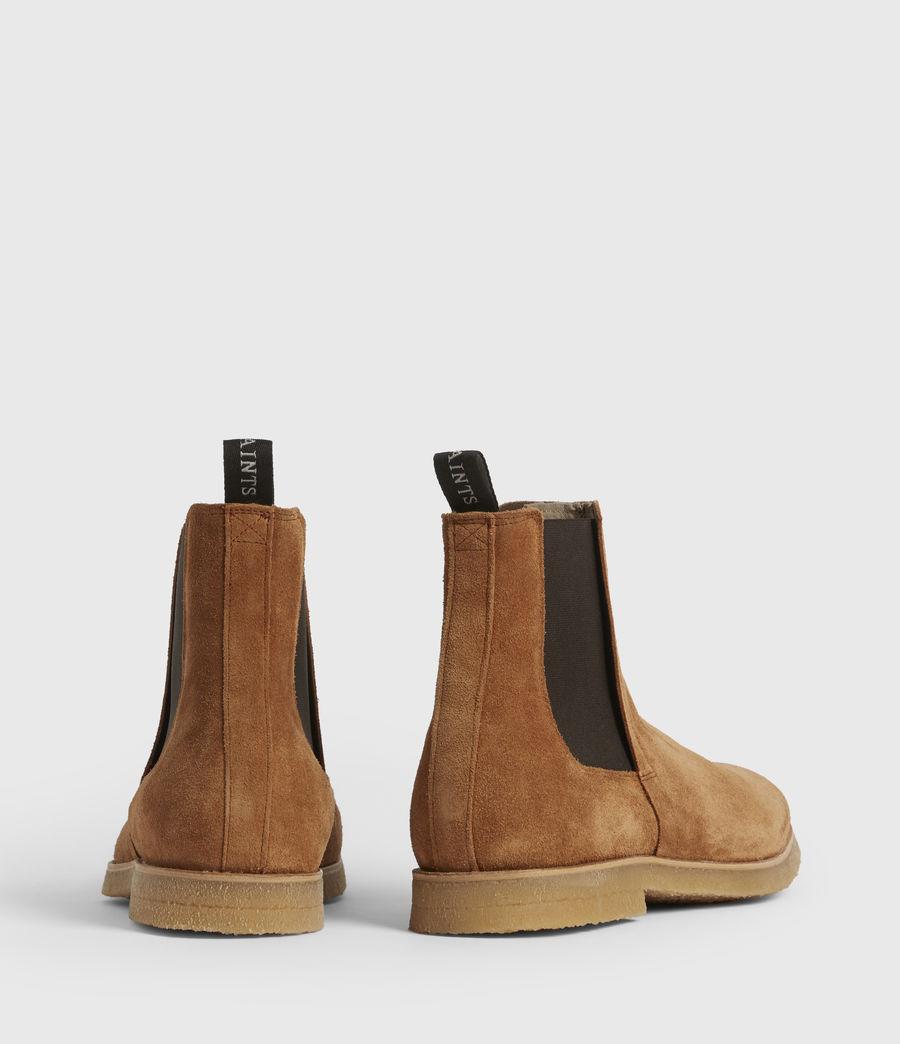 Mens Rhett Suede Boots (cognac) - Image 5