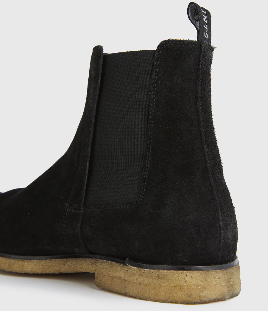 Men's Rhett Suede Boots (black) - Image 2
