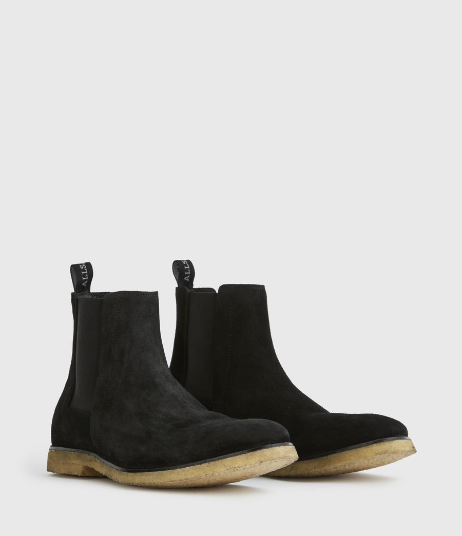 Men's Rhett Suede Boots (black) - Image 3