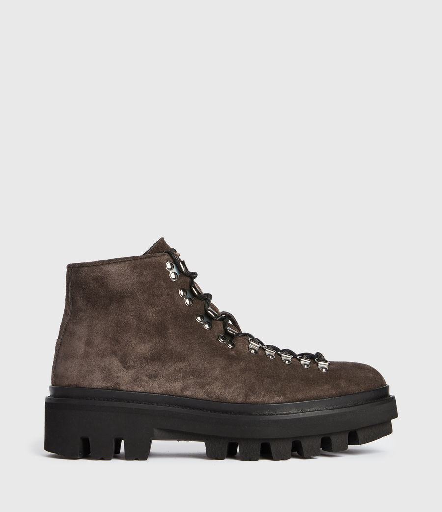 Men's Isaac Suede Boots (charcoal_grey) - Image 1