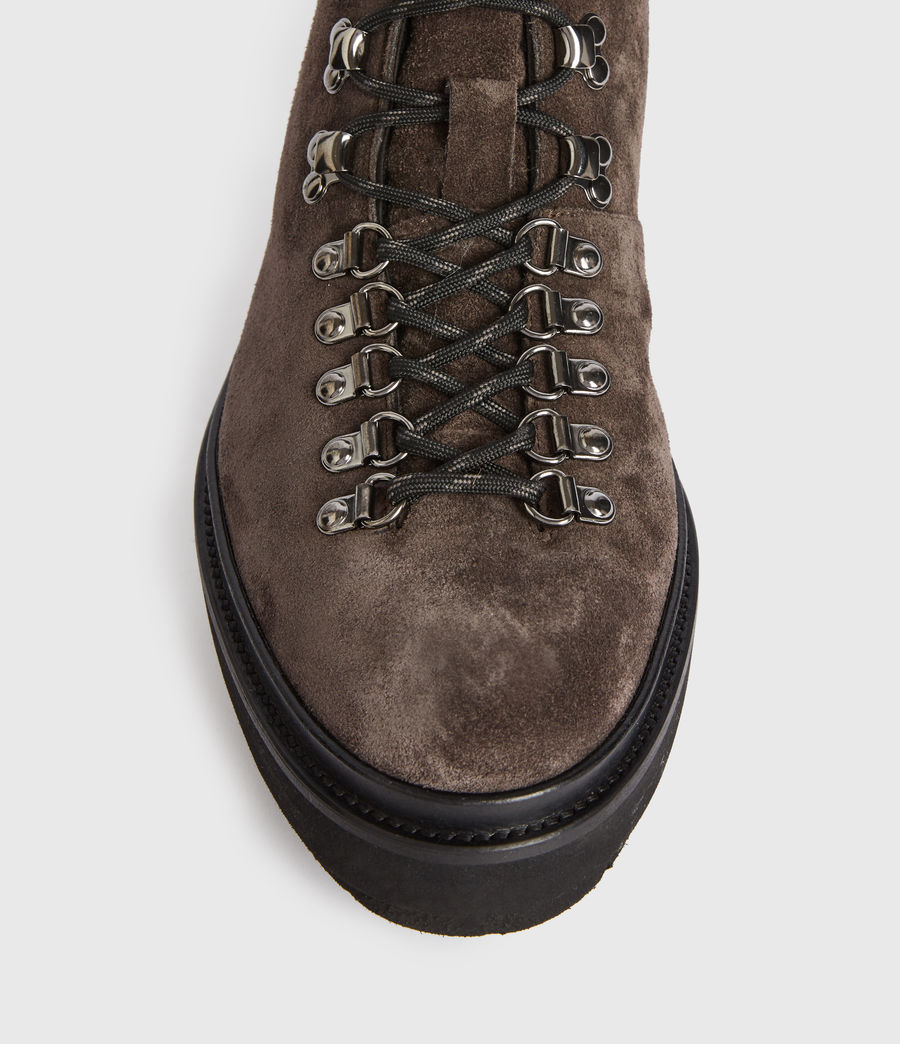 Men's Isaac Suede Boots (charcoal_grey) - Image 2