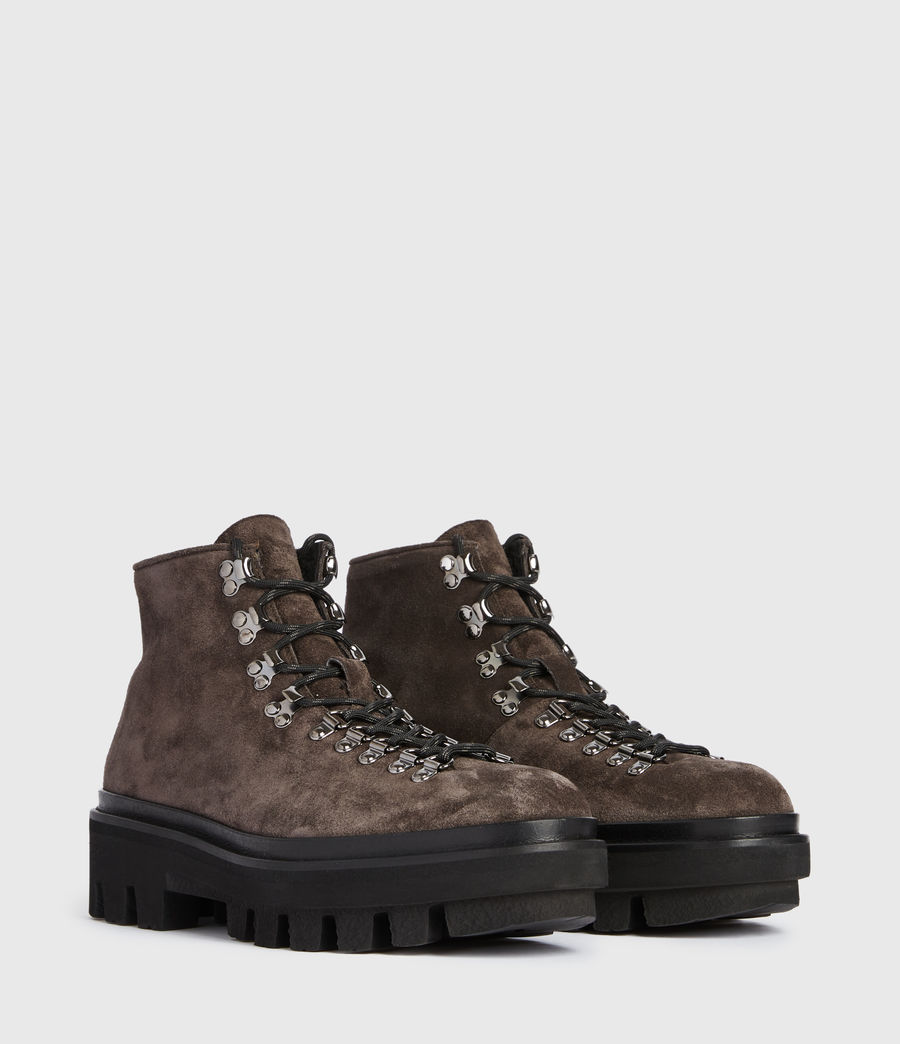 Men's Isaac Suede Boots (charcoal_grey) - Image 3