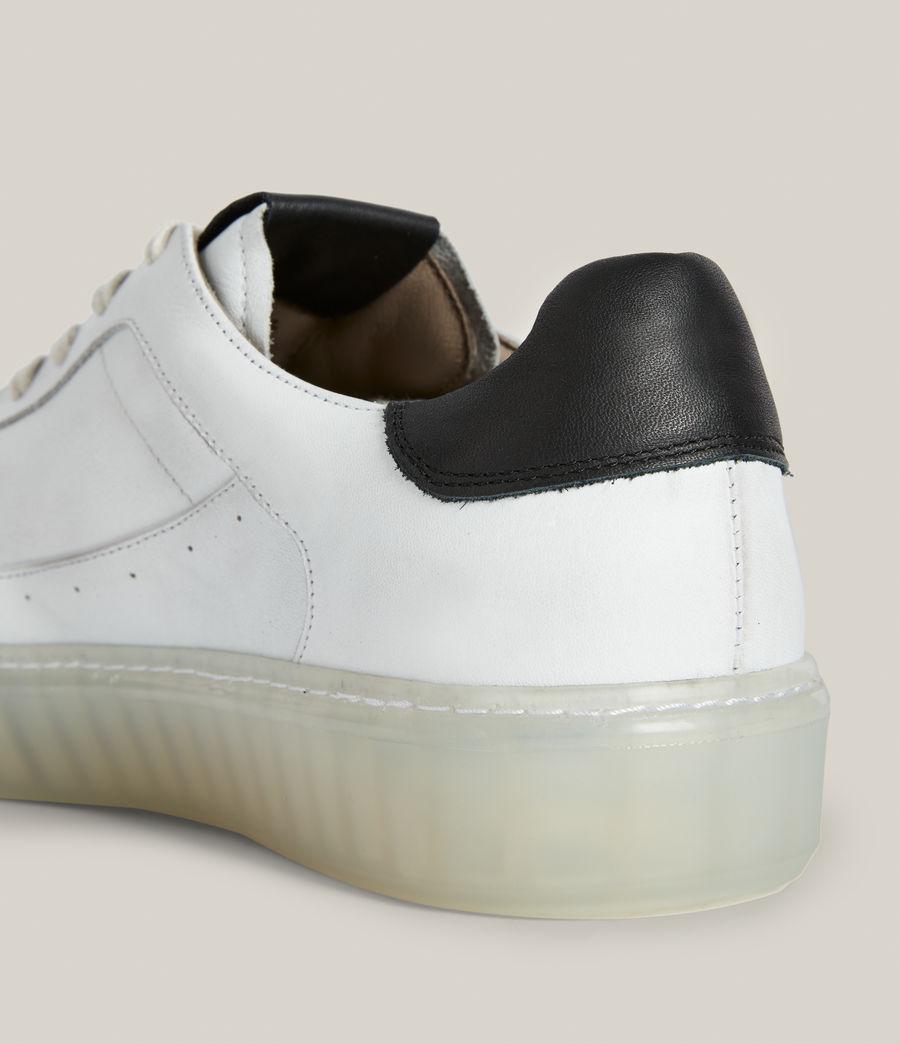 Men's Alton Low Top Leather Trainers (chalk_white) - Image 6