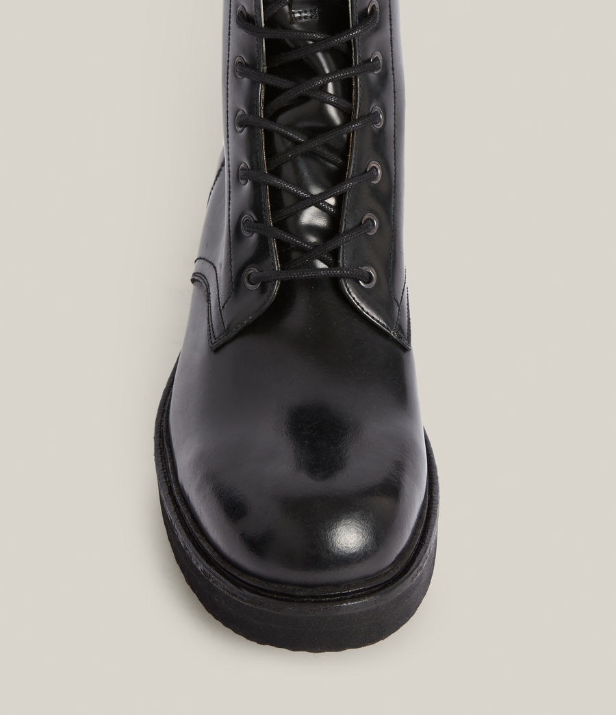 Hommes Shaw Leather Boots (black) - Image 3