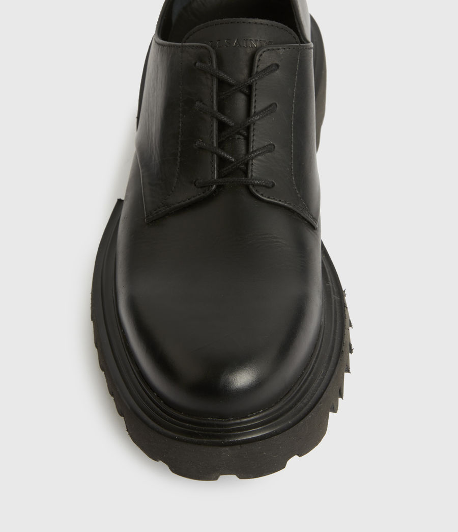 Herren Evan Derby Schuhe (black) - Image 3