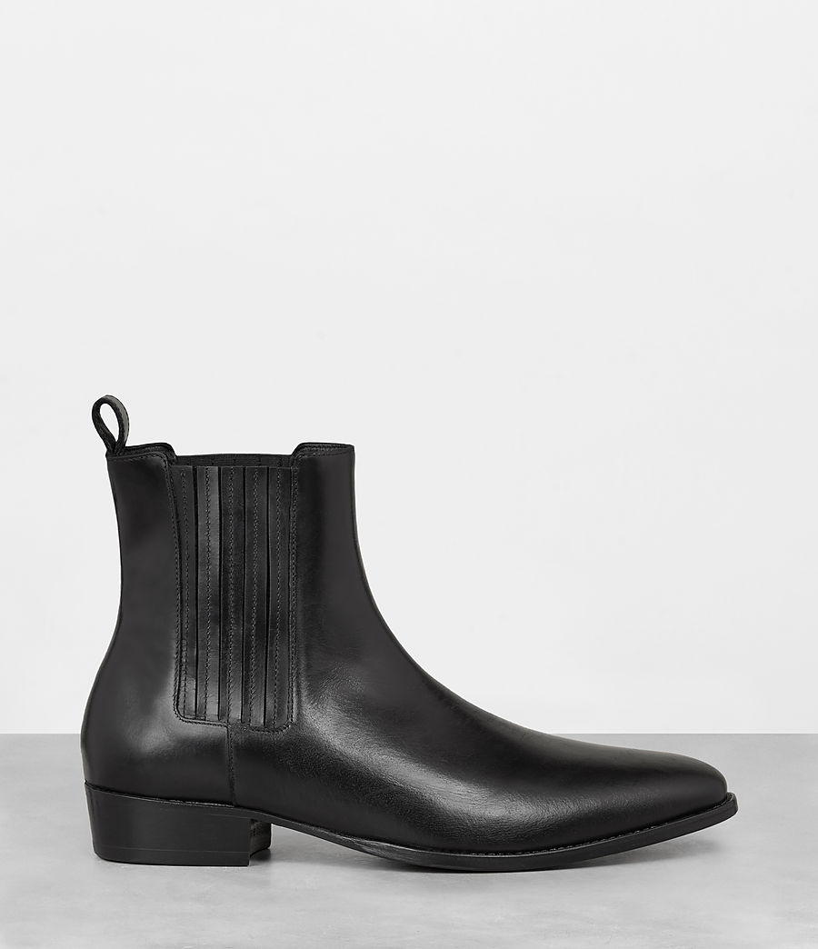 Hommes Bottines Curtis (jet_black) - Image 3