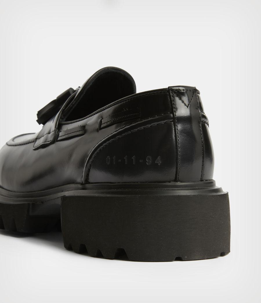 Herren Vine Leather Loafers (black) - Image 5