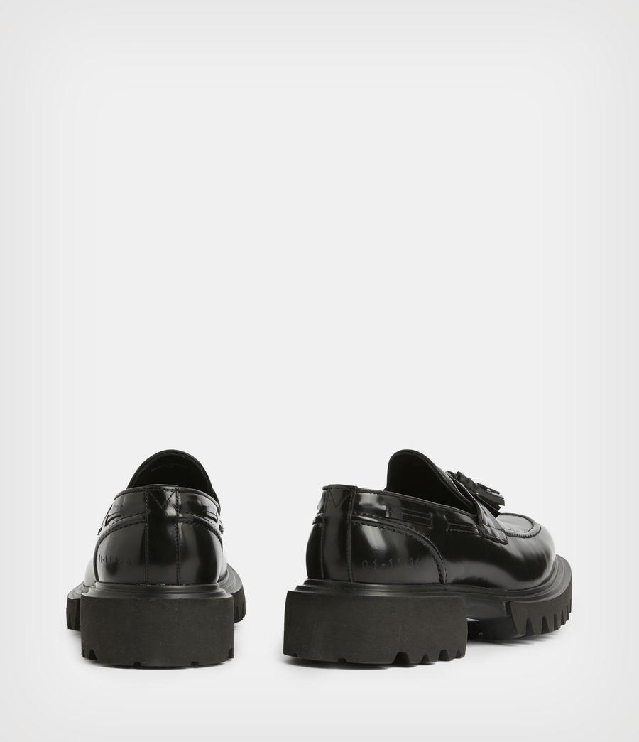 Herren Vine Leather Loafers (black) - Image 6