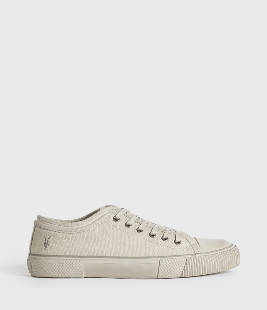Mens Rigg Ramskull Low Top Sneakers (chalk_white) - Image 5