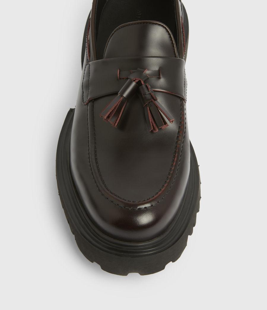 Men's Vine Leather Loafers (burgundy) - Image 3