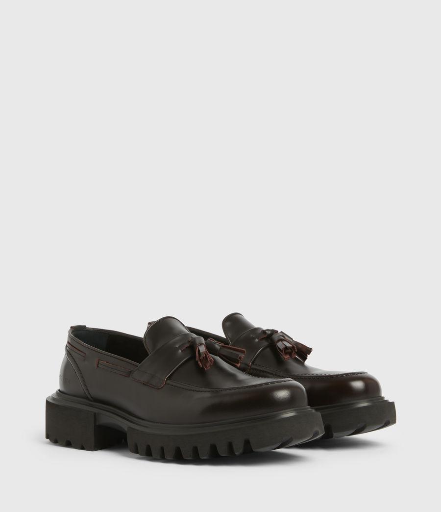 Men's Vine Leather Loafers (burgundy) - Image 4
