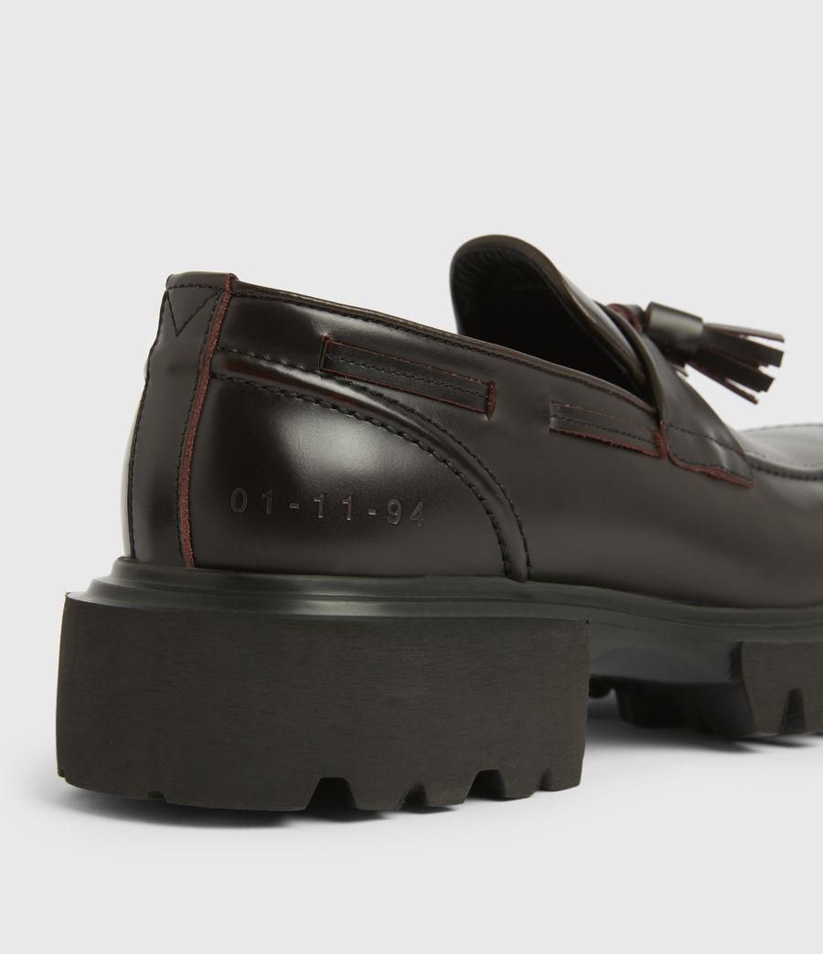 Men's Vine Leather Loafers (burgundy) - Image 5