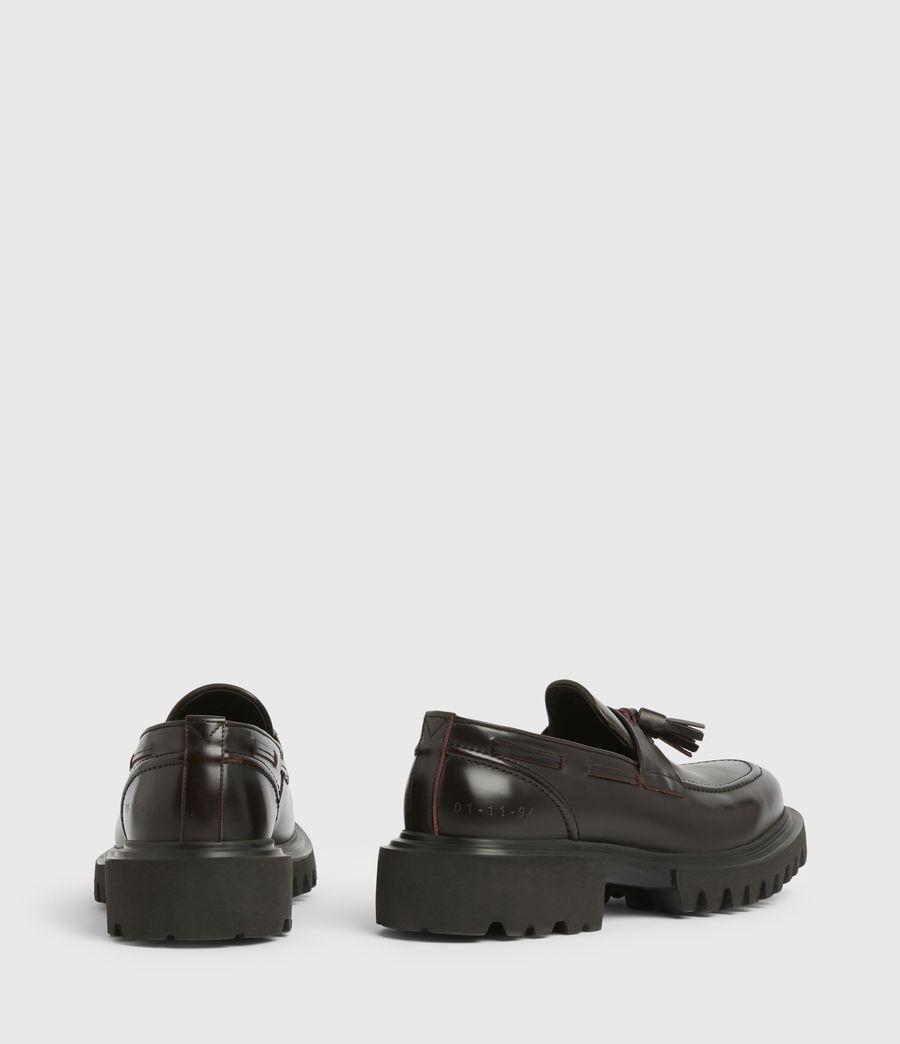 Men's Vine Leather Loafers (burgundy) - Image 6