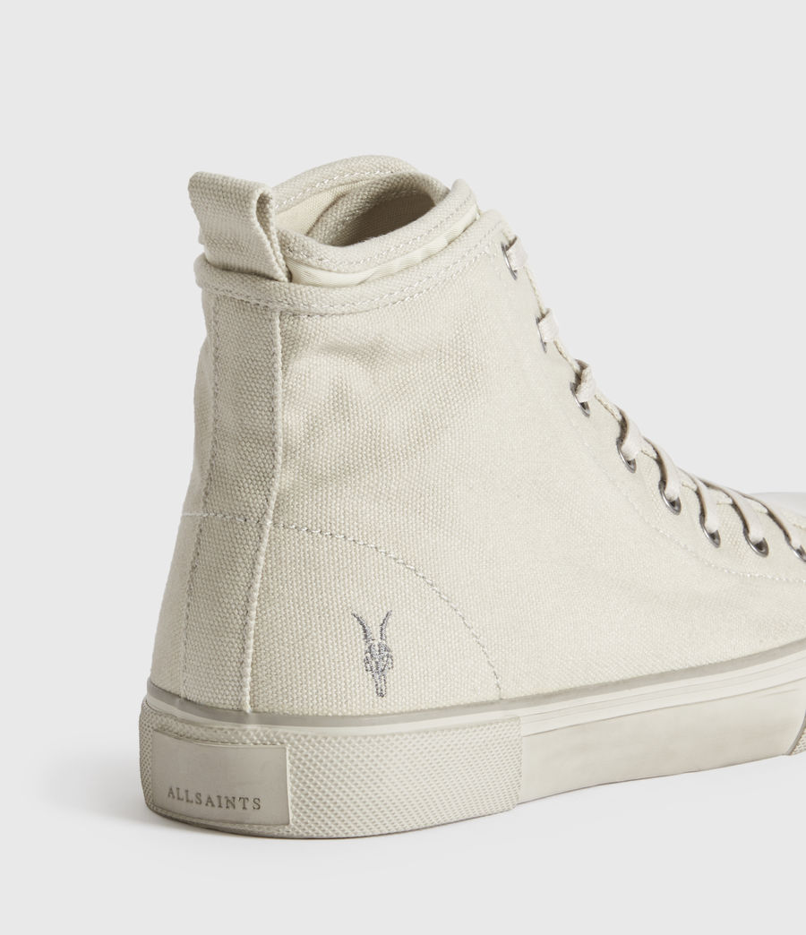 Hombre Rigg Ramskull High Top Sneakers (chalk_white) - Image 1