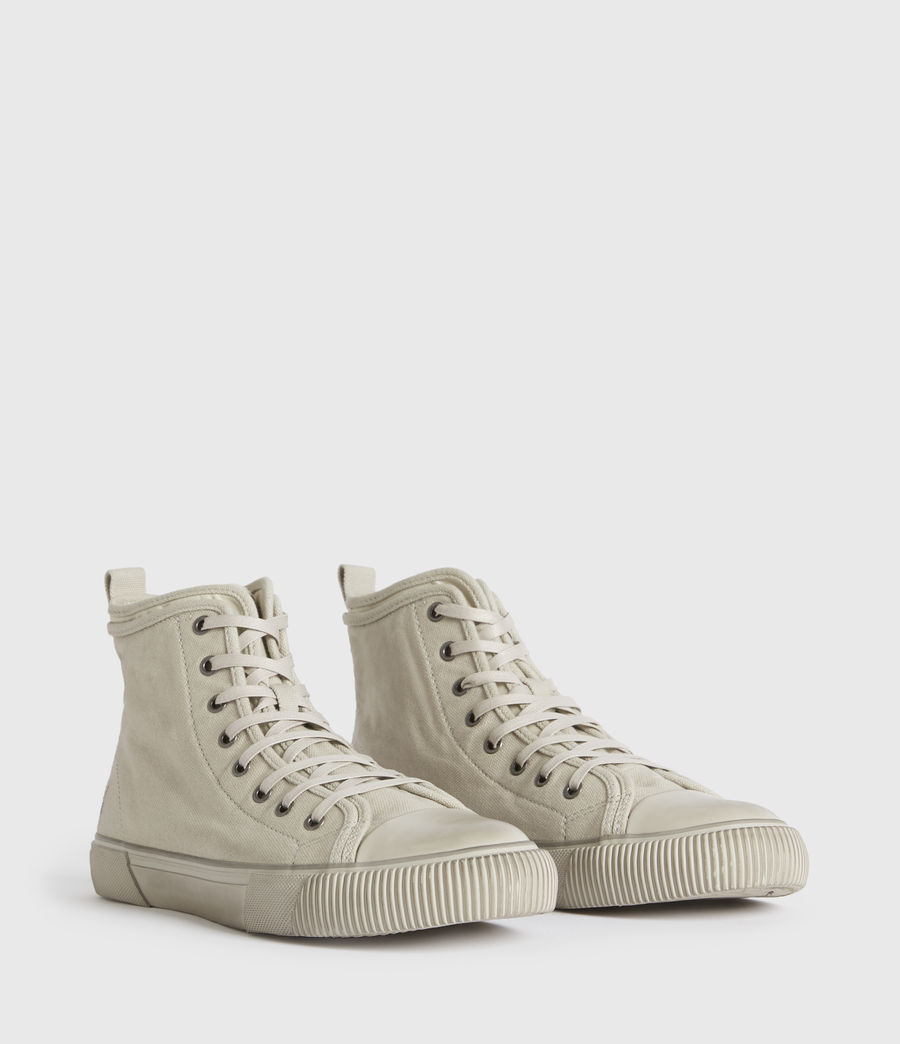 Hombre Rigg Ramskull High Top Sneakers (chalk_white) - Image 2