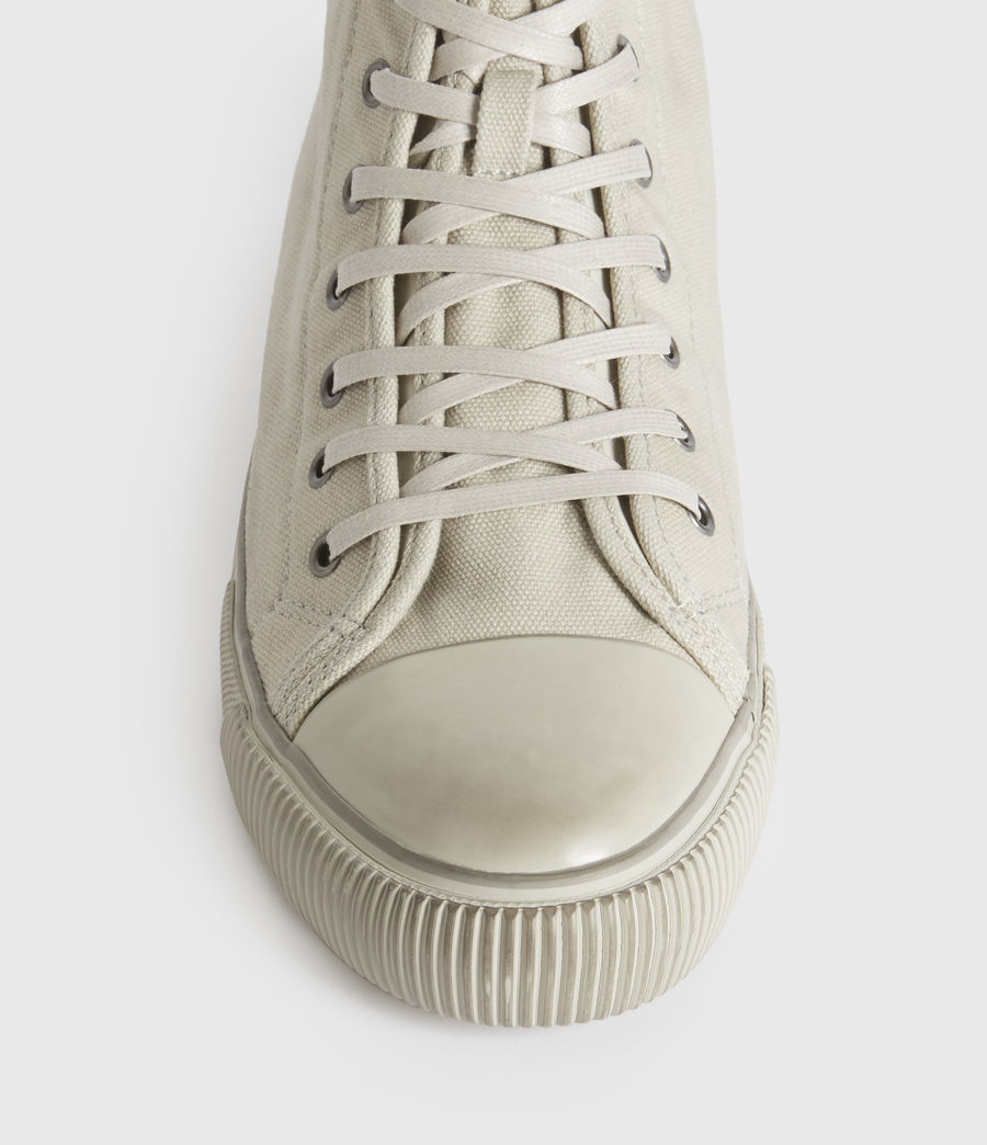 Mens Rigg Ramskull High Top Sneakers (chalk_white) - Image 3