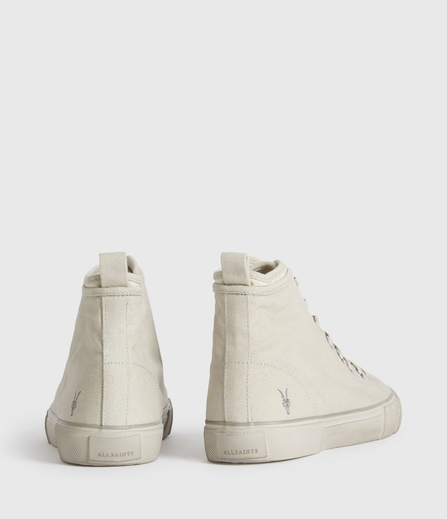 Mens Rigg Ramskull High Top Sneakers (chalk_white) - Image 4