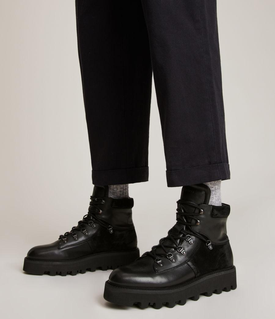 Men's Kai Leather Boots (black) - Image 2