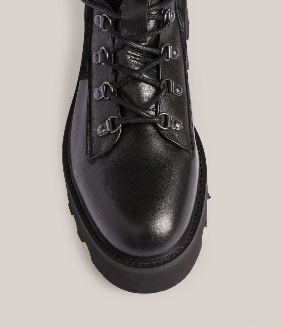 Men's Kai Leather Boots (black) - Image 3