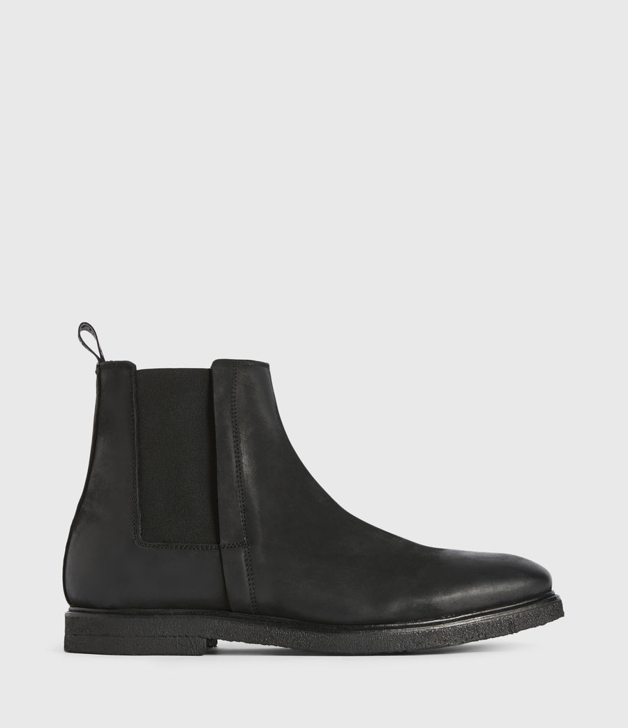 Mens Marcello Nubuck Boots (black) - Image 1
