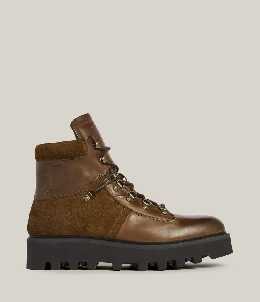 Men's Kai Leather Boots (bitter_chocolate) - Image 1