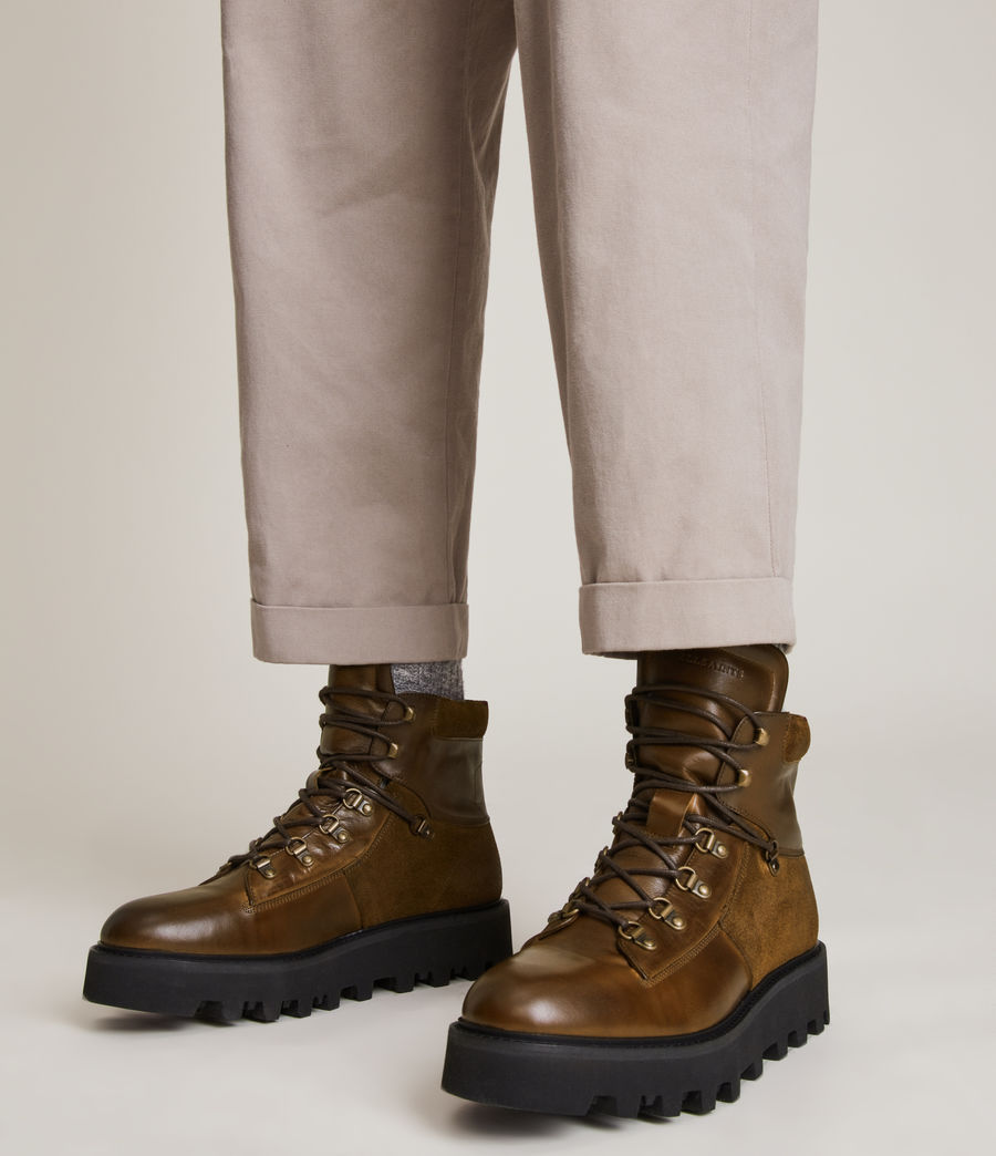 Men's Kai Leather Boots (bitter_chocolate) - Image 2