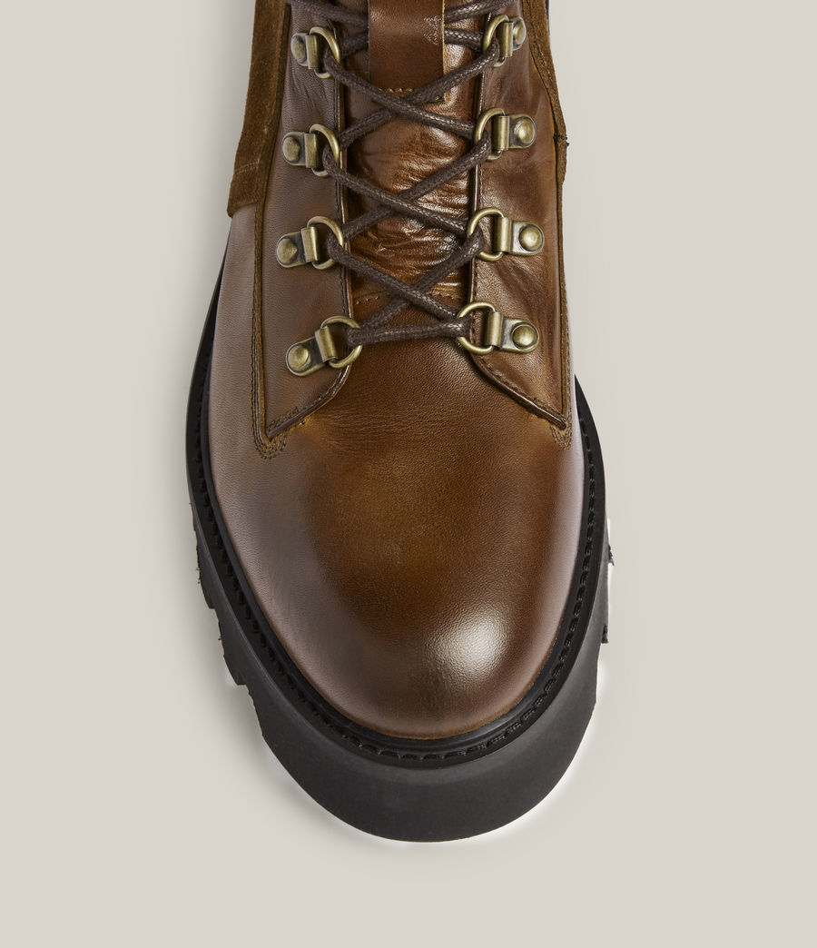 Men's Kai Leather Boots (bitter_chocolate) - Image 3