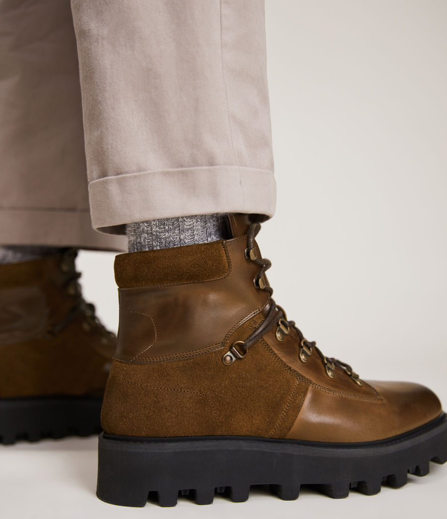 Men's Kai Leather Boots (bitter_chocolate) - Image 4