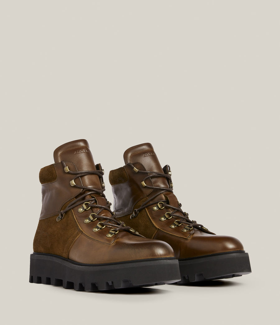 Men's Kai Leather Boots (bitter_chocolate) - Image 5